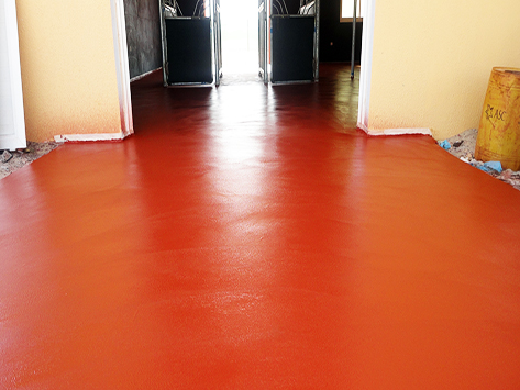 POLAPLAST P25-Polyurethane, self-leveling for equine flooring