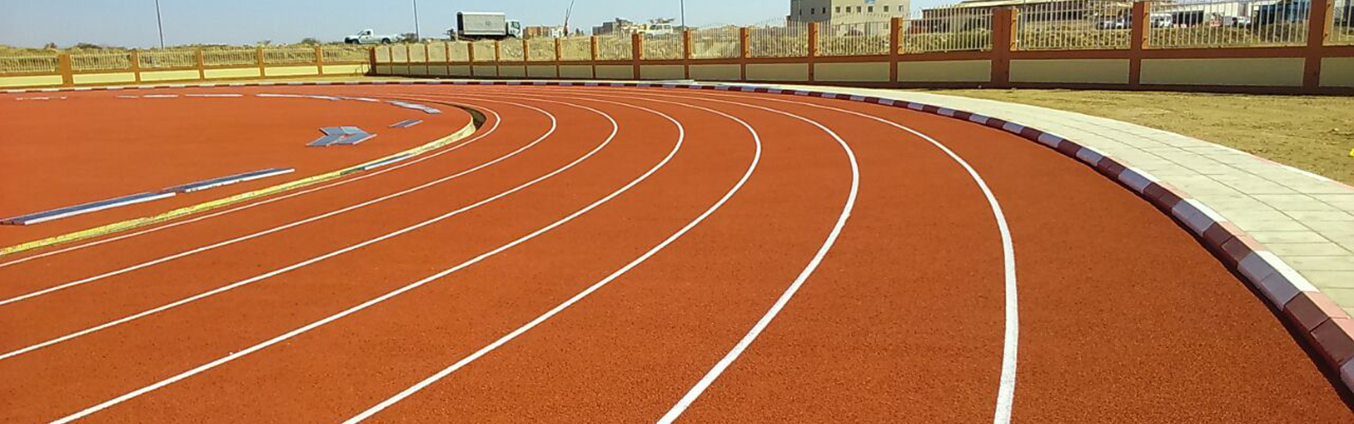 RUNNING TRACK - CERTIFIED SYSTEM