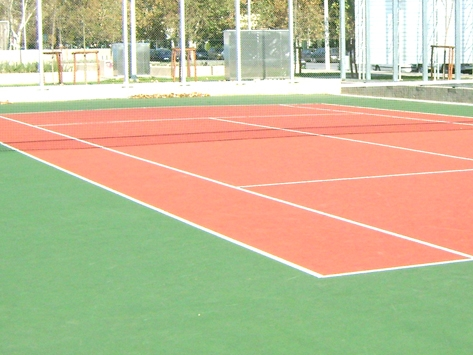 OUTDOOR POLYURETHANE SPORTS FLOORING