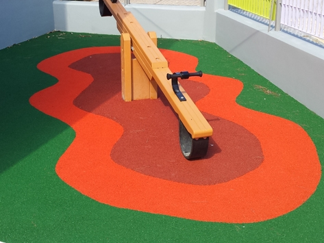 PLAYGROUND SURFACES BY KDF IN QATAR