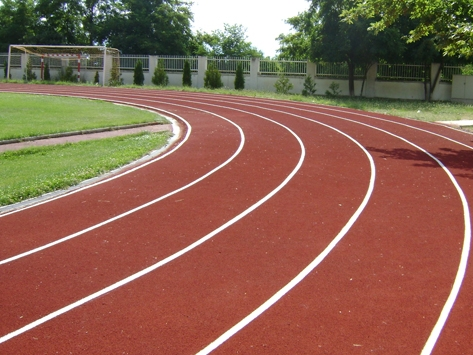 MORE THAN 4000m2 OF RUNNING TRACK
