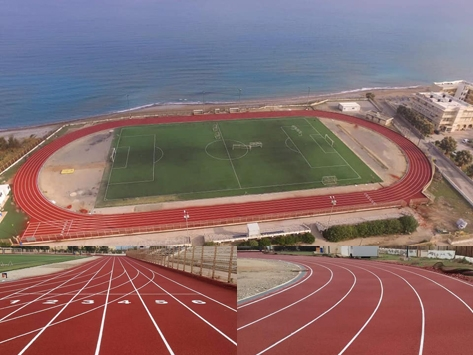 POLTRACK SANDWICH, RUNNING TRACK SYSTEM IN GREECE