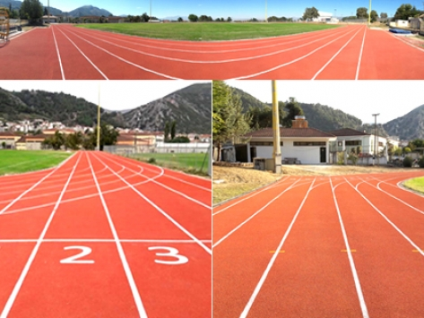 I.A.A.F CERTIFIED RUNNING TRACK