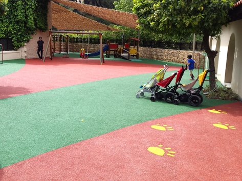 PLAYGROUND FLOORING IN GREECE