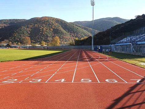 ANOTHER ONE RUNNING TRACK PROJECT COMPLETED-GREECE