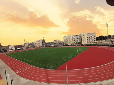 RUNNING TRACK PROJECT IN EGYPT COMPLETED
