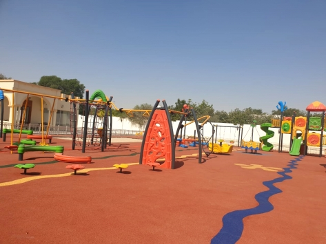 PLAYGROUND FLOORING PROJECT COMPLETED