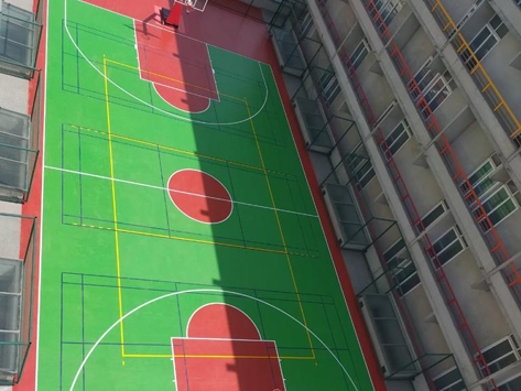 POLYURETHANE SPORTS FLOORING SYSTEM - OUTDOOR COURT