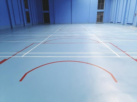 PAKISTAN-INDOOR SPORTS FLOORING