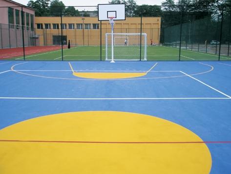 System Sportfloor Ex Hard Coat Outdoor Basketball