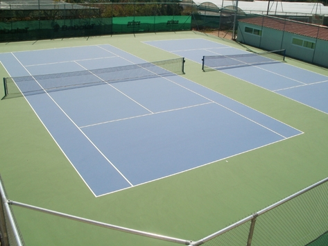Outdoor Basketball Courts  & Outdoor Tennis Courts