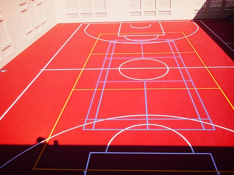 OUTDOOR MULTIPURPOSE COURT IN OMAN