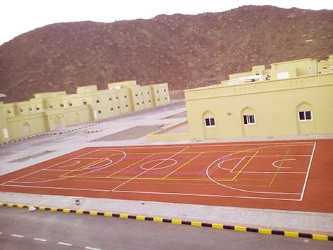 OUTDOOR SPORTS FLOORING IN QATAR