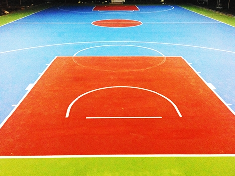 OUTDOOR SPORTS FLOORING IN INDIA
