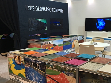 KDF AT COVERINGS 2016