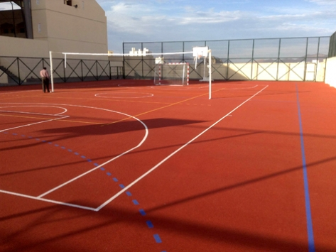 OUTDOOR SPORTS FLOORING IN OMAN EDUCATION SCHOOL