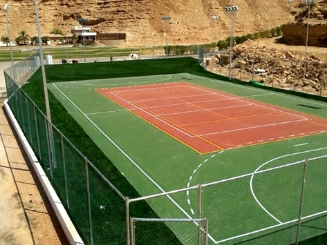 Outdoor Basketball Courts Tennis