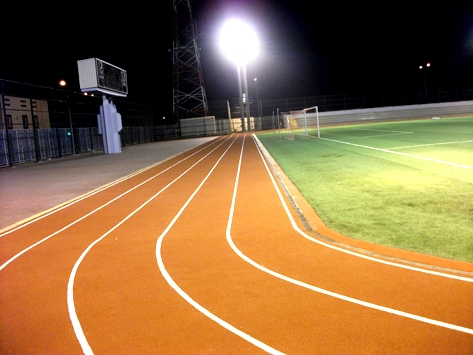 JOGGING TRACK SHOCKPAD-EPDM SYSTEM