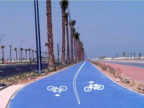 BICYCLE TRACK IN U.A.E