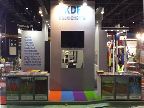 KDF AT BIG 5 EXHIBITION IN DUBAI FOR 2017
